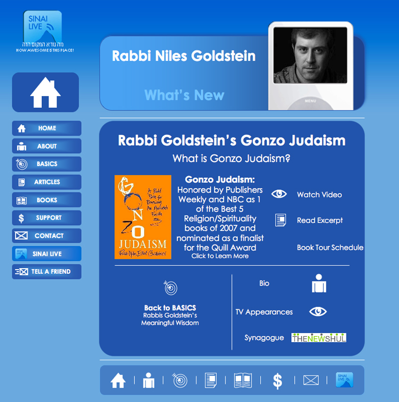 Gonzo Judaism Home